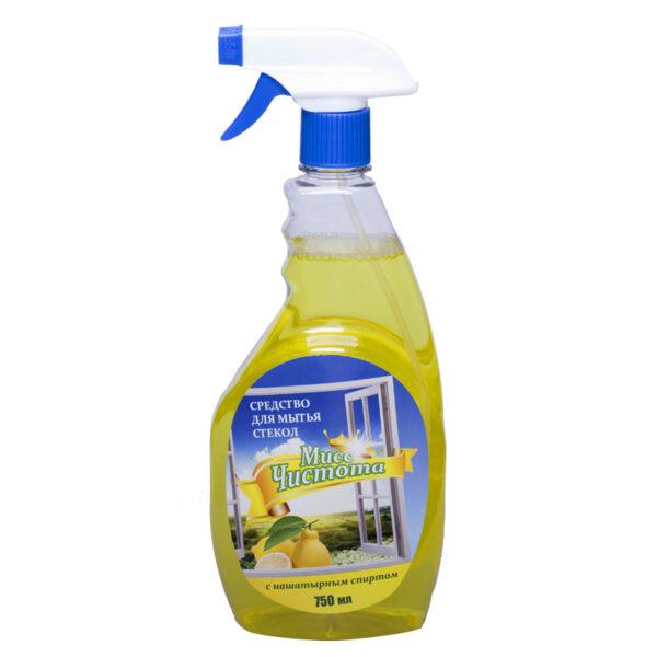 """Моющее средство для стекол Мисс Чистота """"Лимон"""""""