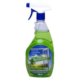 Моющее средство для стекол Мисс Чистота «Свежескошенная трава»