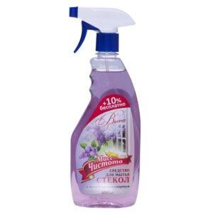 Моющее средство для стекол Мисс Чистота «Весна»