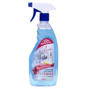 Моющее средство для стекол Мисс Чистота «Зима»