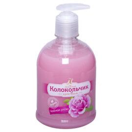 Жидкое крем-мыло Колокольчик «Чайная роза»