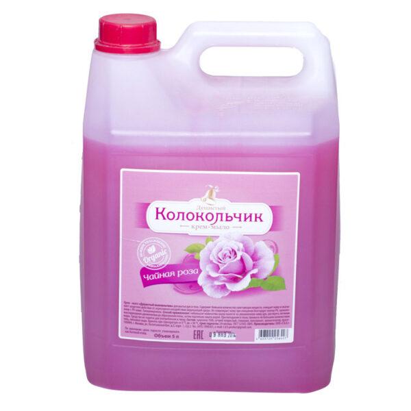 """Жидкое крем-мыло Колокольчик """"Чайная роза"""