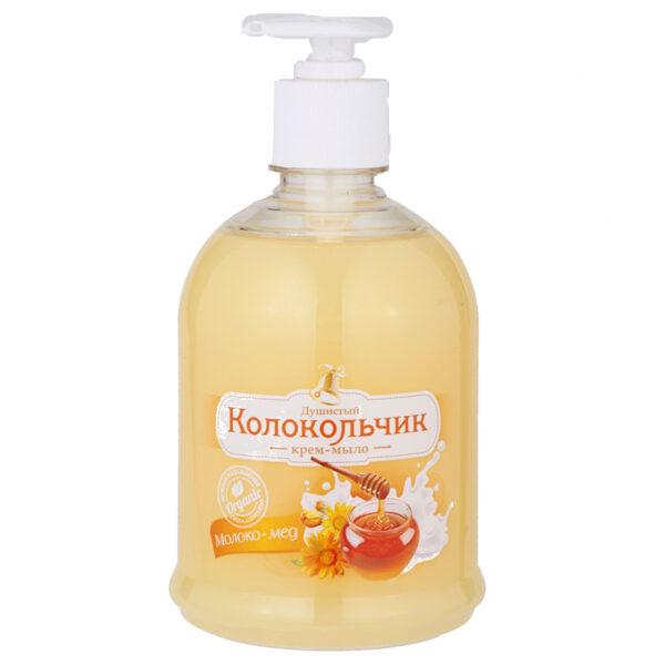 """Жидкое крем-мыло Колокольчик """"Молоко - мед"""""""
