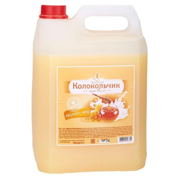 """Жидкое крем-мыло Колокольчик """"Молоко - мед"""