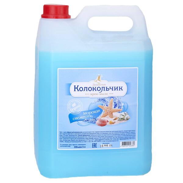 """Жидкое крем-мыло Колокольчик """"Морская свежесть"""