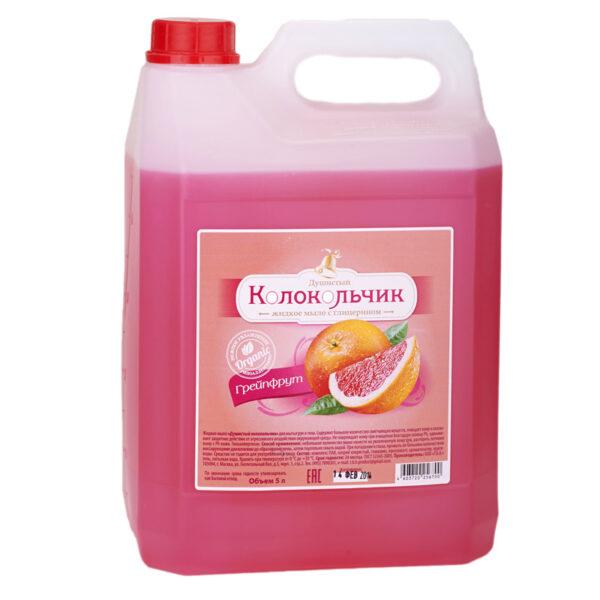 """Жидкое мыло Колокольчик """"Грейпфрут"""
