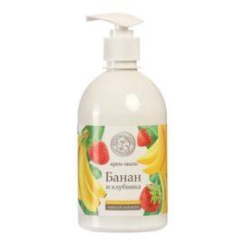 Жидкое мыло Колокольчик «Банан и Клубника»