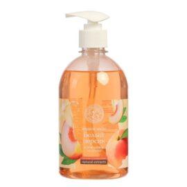 Жидкое мыло Колокольчик «Белый Персик и Пчелиное Молочко»