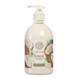 Жидкое мыло Колокольчик «Кокос и Миндальное молочко»