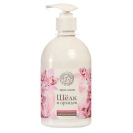 Жидкое мыло Колокольчик «Шёлк и Орхидея»